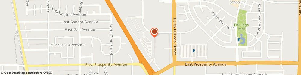 Route/map/directions to Justice - Closed, 93274 Tulare, 1481 Retherford St.