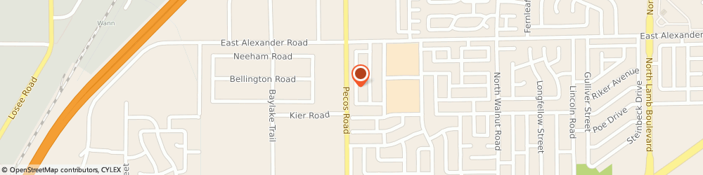 Route/map/directions to A+ HEATING & COOLING, 89115 Las Vegas, 3875 Via Lucia Dr
