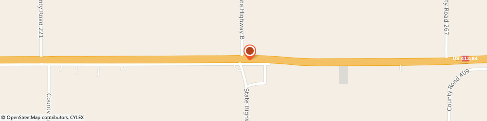 Route/map/directions to Blimpie Sub & Salad, 63851 Hayti, HIGHWAY 84