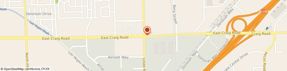 Route/map/directions to Sonic Drive-in, 89031 Las Vegas, 2120 E. Craig Road