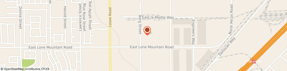 Route/map/directions to C R CONSTRUCTION LLC, 89081 North Las Vegas, 4842 Berg Street