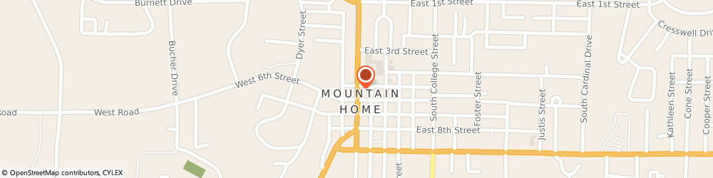 Route/map/directions to Atm Great Western Bank, 72653 Mountain Home, 520 Hwy 5 N