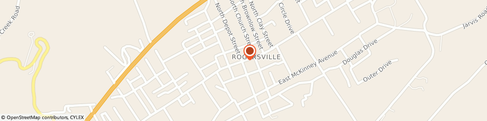 Route/map/directions to US BANK, 37857 Rogersville, 107 EAST MAIN STREET