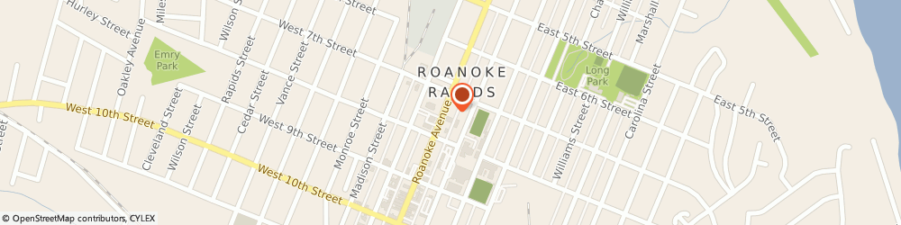 Route/map/directions to STATE FARM John Grimes, 27870 Roanoke Rapids Afs, 720 Roanoke Ave