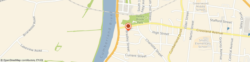 Route/map/directions to Comfort Keepers, 37040 Clarksville, 30 Crossland Ave, Ste 202