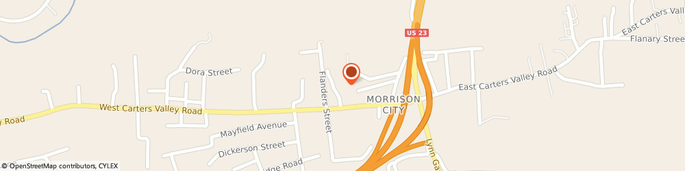 Route/map/directions to Morrison Chapel United Methodist Church, 37665 Kingsport, 2019 CHAPEL DRIVE