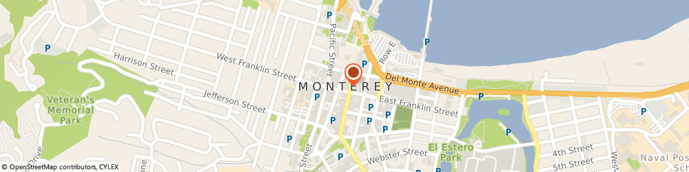 Route/map/directions to Bruce Payne Insurance Svc, 93940 Monterey, 2100 GARDEN RD # B6D