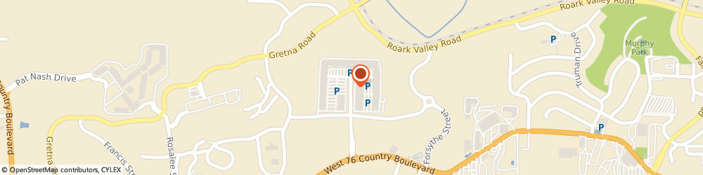 Route/map/directions to A&W Restaurant, 65616 Branson, 300 Tanger Boulevard
