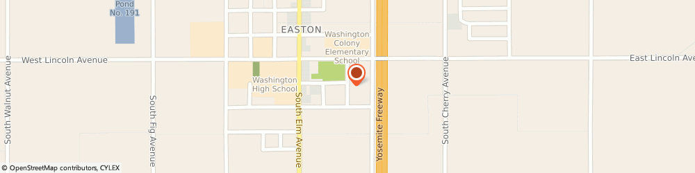Route/map/directions to Easton New Beginnings Church, 93706 Fresno, 6050 S LOTUS AVE
