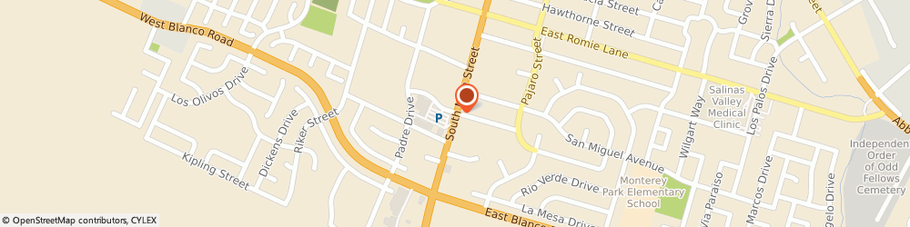 Route/map/directions to Bank of America, 93901 Salinas, 1150 S MAIN ST