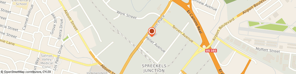 Route/map/directions to Speciality Auto Body, 93901 Salinas, 767 SANBORN PL