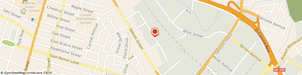 Route/map/directions to LARRYS AUTO & TRUCK REPAIR, 93901 Salinas, 552 Brunken Ave