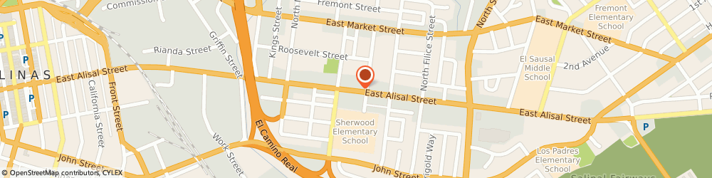 Route/map/directions to Jennis Craft, 93905 Salinas, 629 EAST ALISAL STREET