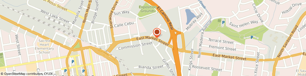 Route/map/directions to Mission Motors, 93901 Salinas, 301 E Market St