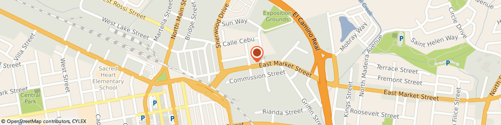 Route/map/directions to Thomassin Auto Sales, 93901 Salinas, 275 E.Market St