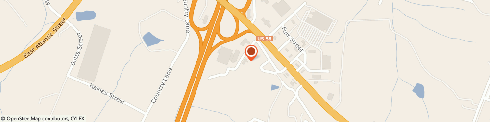 Route/map/directions to Fairfield Inn & Suites by Marriott South Hill I-85, 23970 South Hill, 150 Arnold Drive