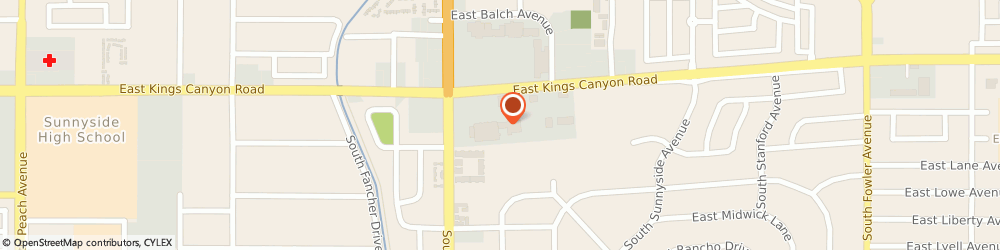 Route/map/directions to Atm Great Western Bank, 93727 Fresno, 5642 E Kings Canyon Blvd