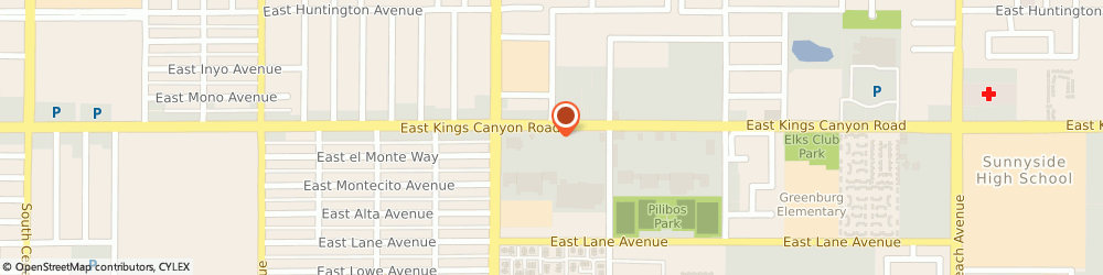 Route/map/directions to Radio Shack Fresno, 93727 Fresno, 4846 East Kings Canyon Road 101