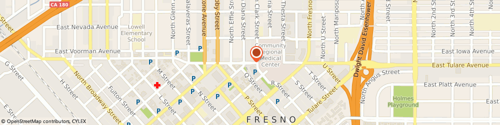 Route/map/directions to Unilab Quest Diagnostics Incorporated, 93701 Fresno, 2023 Divisadero St