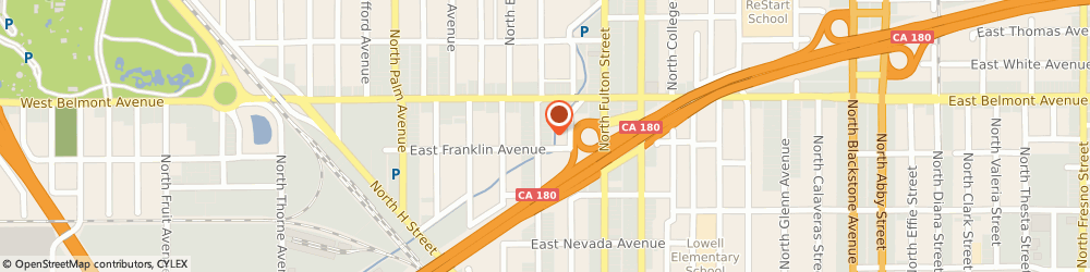 Route/map/directions to Bolt Ronald & Associates Incorporated, 93701 Fresno, 414 NORTH BROADWAY STREET