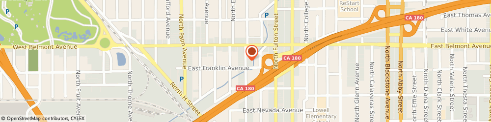 Route/map/directions to Living Room, 93701 Fresno, 420 NORTH BROADWAY STREET