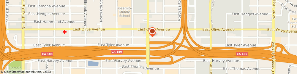 Route/map/directions to Styles By Vicki, 93710 Fresno, 6755 North Cedar Avenue