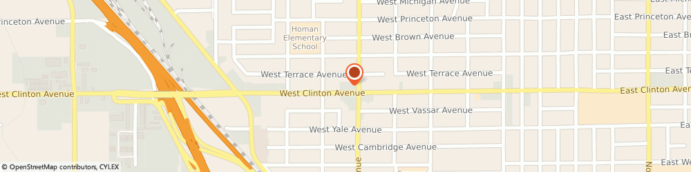 Route/map/directions to Atm Great Western Bank, 93705 Fresno, 1344 West Clinton Ave