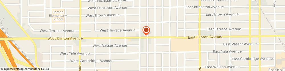 Route/map/directions to 7-Eleven, 93705 Fresno, 2414 Fruit Ave