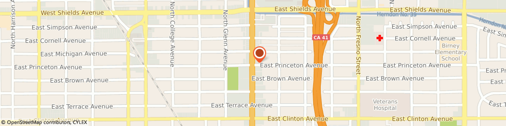 Route/map/directions to D'Isabelle Beauty Salon, 93703 Fresno, 2806 North Blackstone Avenue