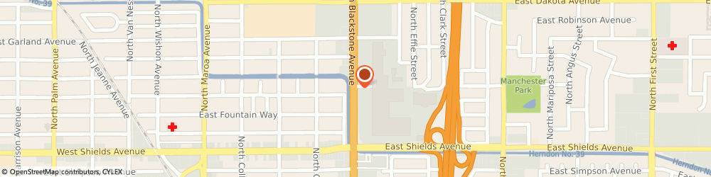 Route/map/directions to Sally Beauty Supply, 93726 Fresno, 3502 N Blackstone Ave Ste 185