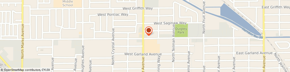 Route/map/directions to Mean Jean Barber Shop, 93705 Fresno, 3808 N West Ave