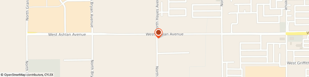 Route/map/directions to Superior Sanitary Service, 93723 Fresno, 6033 West Ashlan Avenue