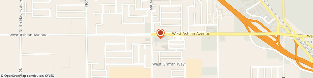 Route/map/directions to Atm Great Western Bank, 93722 Fresno, 4771 W Ashlan Ave
