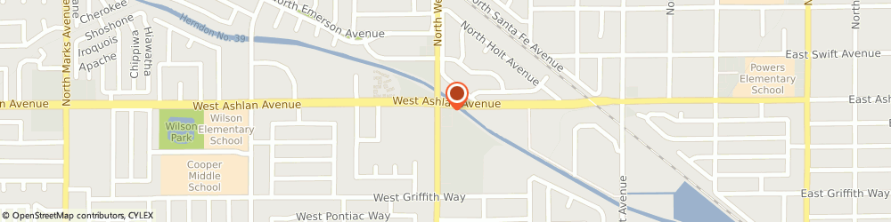 Route/map/directions to McDonald's, 93705 Fresno, 4190 N West Ave