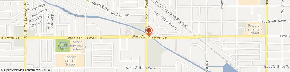Route/map/directions to Curves For Women, 93705 Fresno, 1426 WEST ASHLAN AVENUE