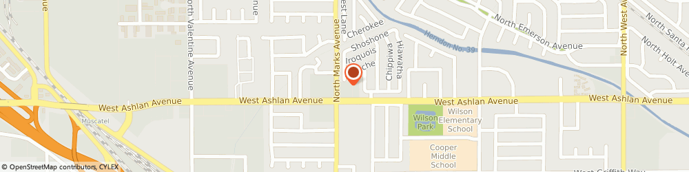 Route/map/directions to Atm Great Western Bank, 93705 Fresno, 2840 W Ashlan Ave