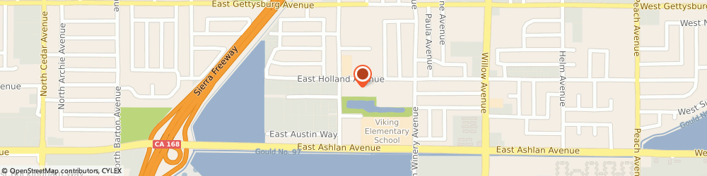 Route/map/directions to Northeast Assembly, 93726 Fresno, 4386 NORTH CHESTNUT AVENUE