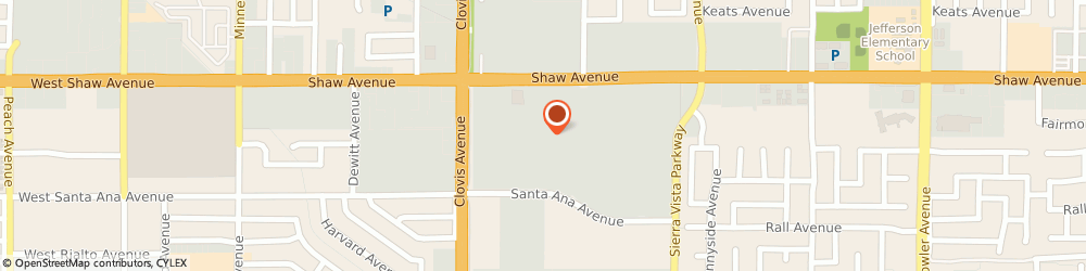 Route/map/directions to Kohl's, 93612-3921 Clovis, 1000 Shaw Avenue