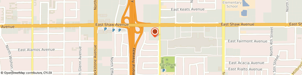 Route/map/directions to The UPS Store, 93710 Fresno, 373 E Shaw