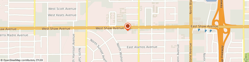 Route/map/directions to Safeco Insurance Agent, 93704-2516 Fresno, 499 W Shaw Ave Ste 140
