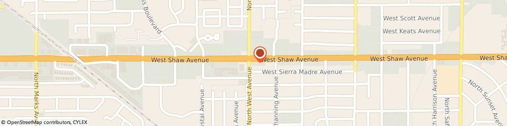 Route/map/directions to Valero Energy Corporation, 93711 Fresno, 1785 W Shaw Ave