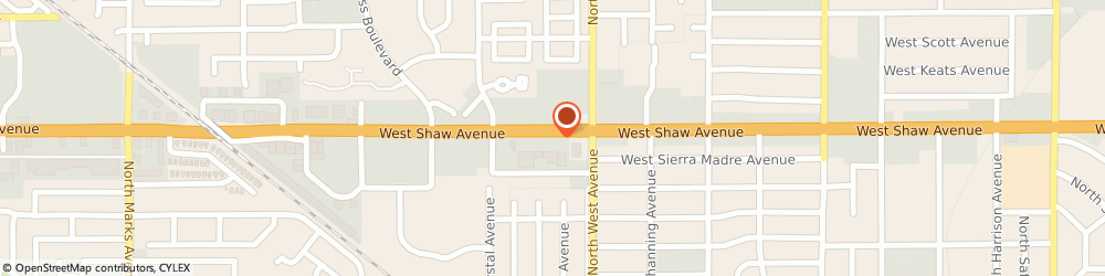 Route/map/directions to Sally Beauty Supply, 93711 Fresno, 2065 W Shaw Ave