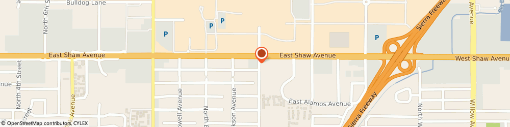 Route/map/directions to 7-Eleven, 93710 Fresno, 2389 E Shaw Ave