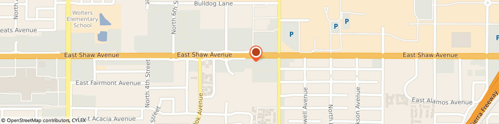 Route/map/directions to McDonald's, 93710 Fresno, 1695 E Shaw Ave