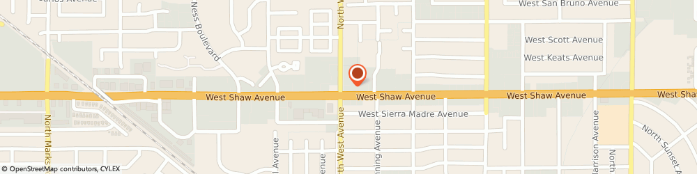 Route/map/directions to 7-Eleven, 93711 Fresno, 1784 W Shaw