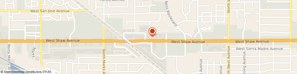 Route/map/directions to Atm Great Western Bank, 93711 Fresno, 2508 W Shaw Ave