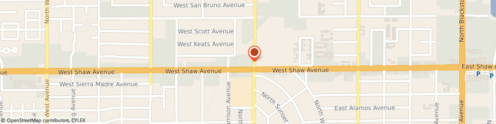 Route/map/directions to Atm Great Western Bank, 93710 Fresno, 1016 W Shaw