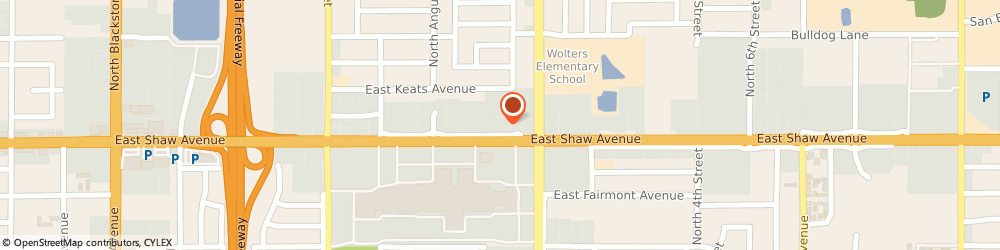 Route/map/directions to Atm Great Western Bank, 93710 Fresno, 710 E Shaw Ave