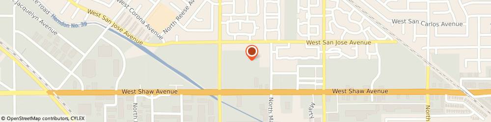 Route/map/directions to Atm Great Western Bank, 93711 Fresno, 3680 West Shaw