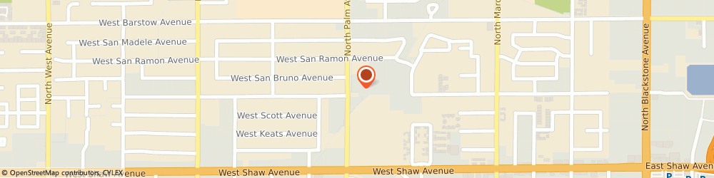 Route/map/directions to Atm Great Western Bank, 93704 Fresno, 5210 North Palm Ave